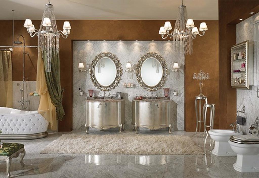Le style de Versailles dans votre salle de bain