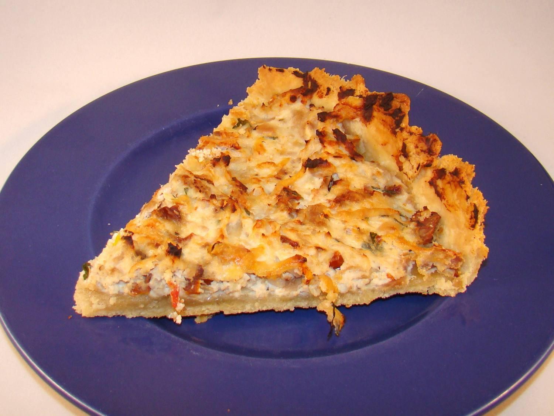 Tarte sal e originale une recette de bonnes choses c 39 est pr t - Recette tarte salee originale ...