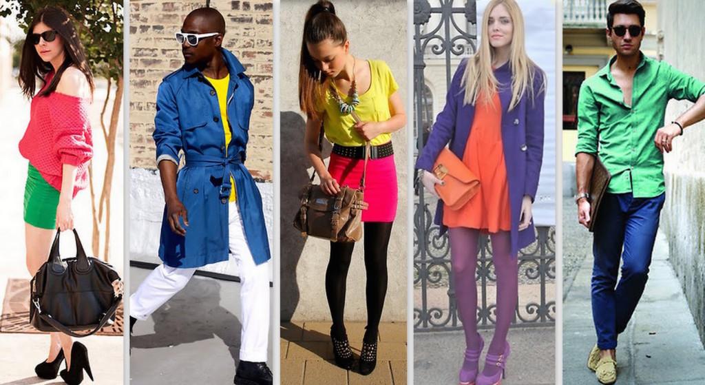 Passer à la couleur avec la tendance color block !2