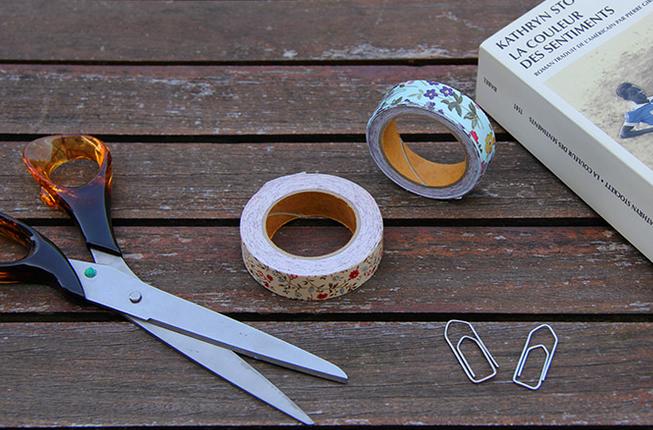 adoptez le washi tape pour refaire votre d co. Black Bedroom Furniture Sets. Home Design Ideas
