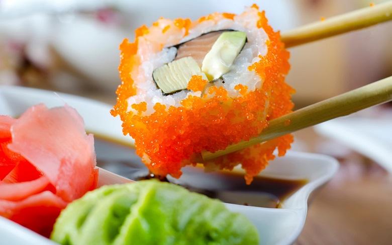 Livraison sushi à domicile