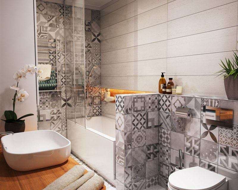 Acheter du carrelage pour d corer sa salle de bain for Decorer sa salle de bain
